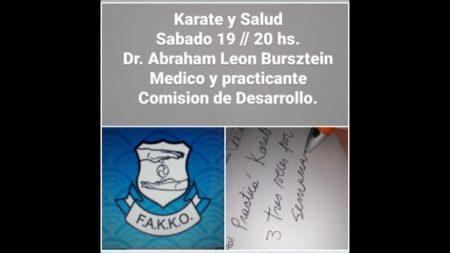 Seminario de Karate y Salud
